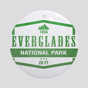 Everglades National Park, Florida Ornament (Round)