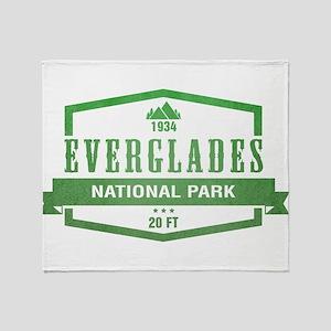 Everglades National Park, Florida Throw Blanket