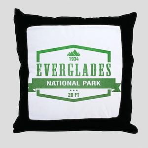 Everglades National Park, Florida Throw Pillow