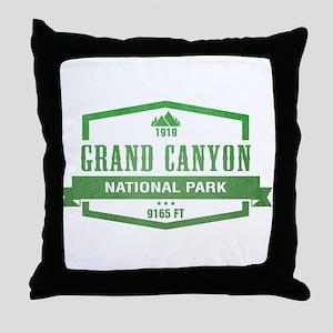 Grand Canyon National Park, Colorado Throw Pillow