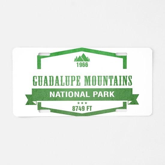 Guadalupe Mountains National Park, Texas Aluminum