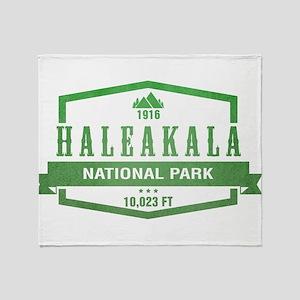 Haleakala National Park, Hawaii Throw Blanket