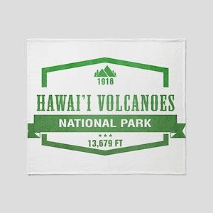 Hawaii Volcanoes National Park, Hawaii Throw Blank