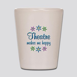 Theatre Happy Shot Glass