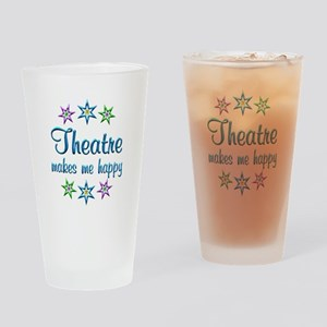 Theatre Happy Drinking Glass
