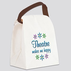 Theatre Happy Canvas Lunch Bag