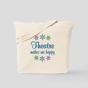 Theatre Happy Tote Bag
