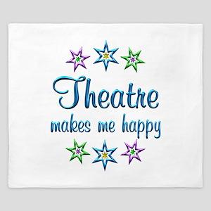 Theatre Happy King Duvet