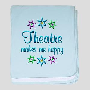 Theatre Happy baby blanket