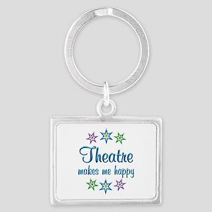 Theatre Happy Landscape Keychain