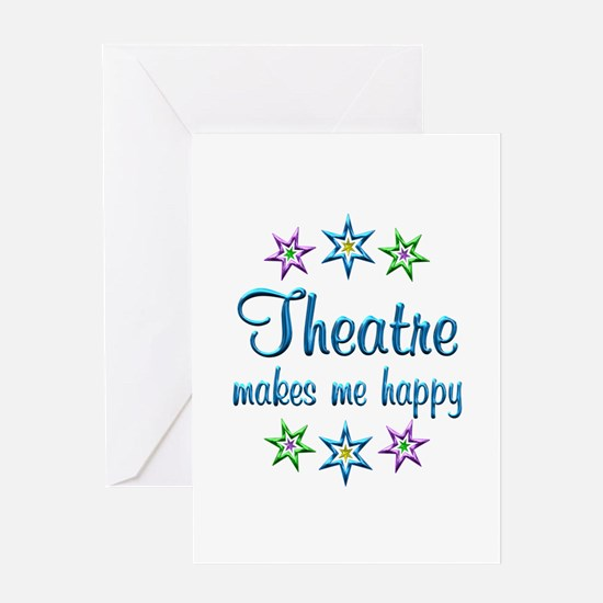 Theatre Happy Greeting Card