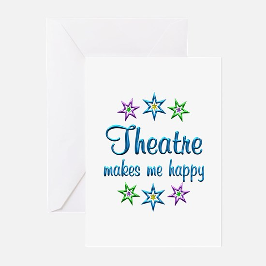 Theatre Happy Greeting Cards (Pk of 20)