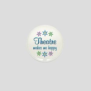Theatre Happy Mini Button