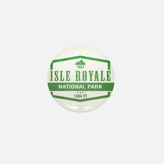Isle Royale National Park, Michigan Mini Button