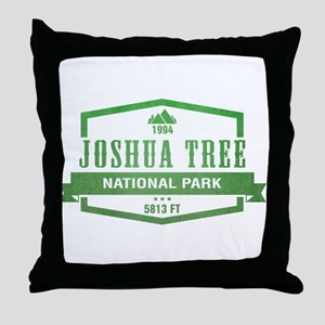 Joshua Tree National Park, California Throw Pillow