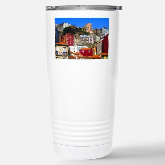 Ribeira do Porto Stainless Steel Travel Mug