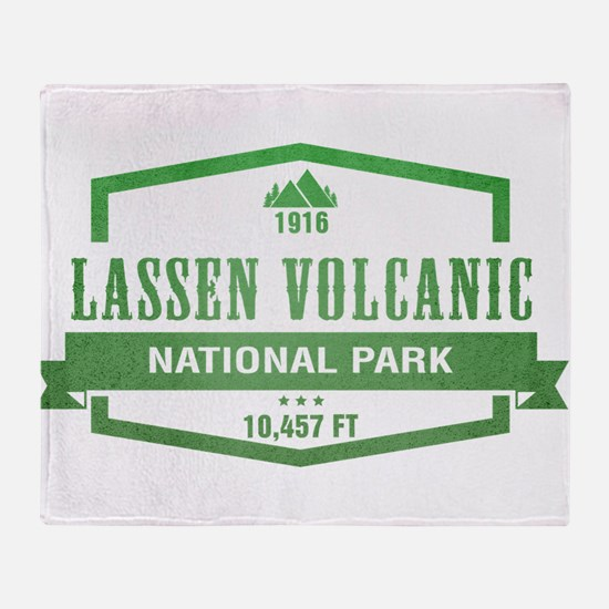 Lassen Volcanic National Park, California Throw Bl