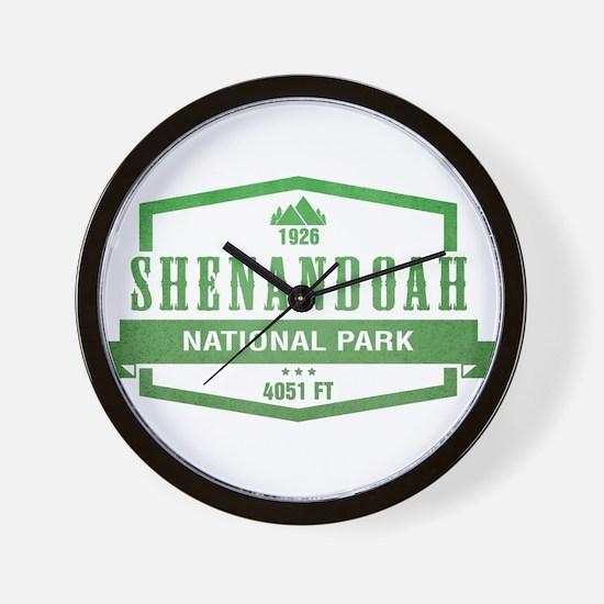 Shenandoah National Park, Virginia Wall Clock