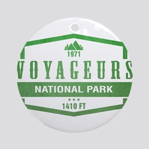 Voyageurs National Park, Minnesota Ornament (Round