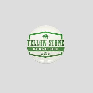 Yellow Stone National Park, Wyoming Mini Button