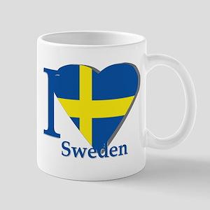 I love Sweden Mug
