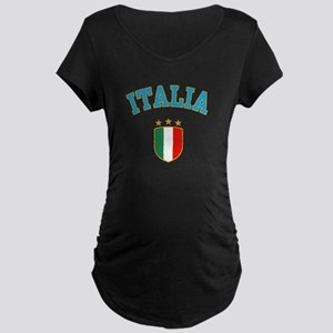 Italia Maternity Dark T-Shirt