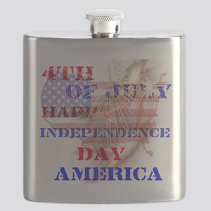 RightOn Independence Day Flask