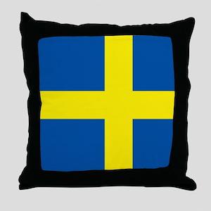Flag Swedish Throw Pillow