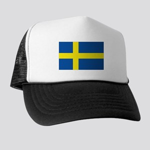 Flag Swedish Trucker Hat