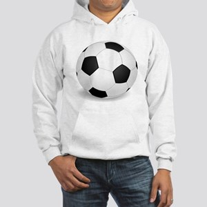 soccer ball large Hoodie