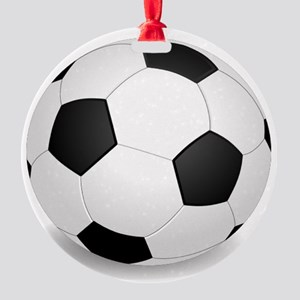 soccer ball large Ornament