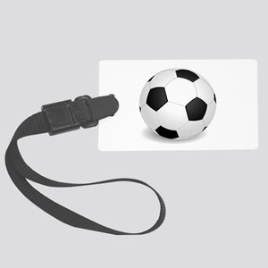 soccer ball large Luggage Tag