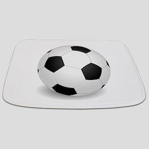 soccer ball large Bathmat
