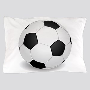 soccer ball large Pillow Case