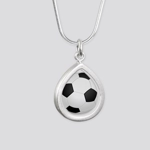 soccer ball large Necklaces
