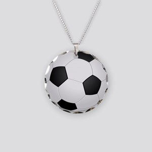 soccer ball large Necklace