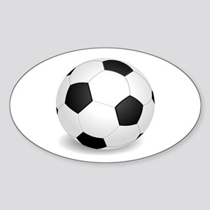 soccer ball large Sticker