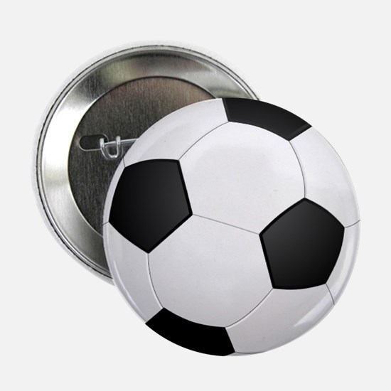 """soccer ball large 2.25"""" Button (100 pack)"""
