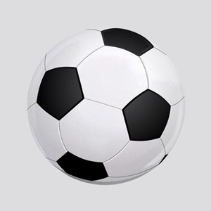 "soccer ball large 3.5"" Button"