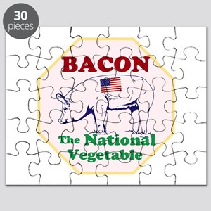 Bacon, The National Vegetable Puzzle