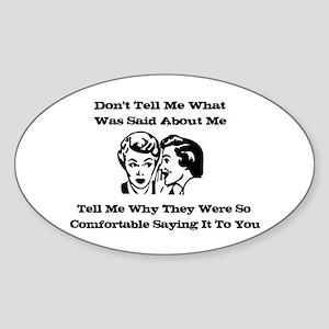 Gossip Sticker