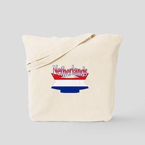Netherlands flag ribbon Tote Bag