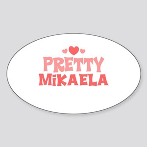 Mikaela Oval Sticker