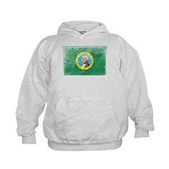 Vintage Washington Flag Hoodie