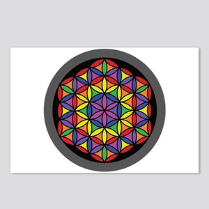 Charkas Flower of Life Postcards (Package of 8)