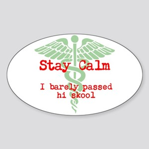 Stay Calm: I have no idea what I'm doing Sticker