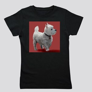 WESTIE IN THE PINK Girl's Tee