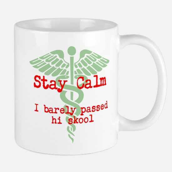 Stay Calm: I have no idea what I'm doing Mugs