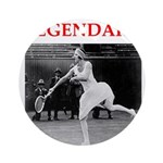 tennis Ornament (Round)