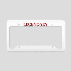 table tennis License Plate Holder